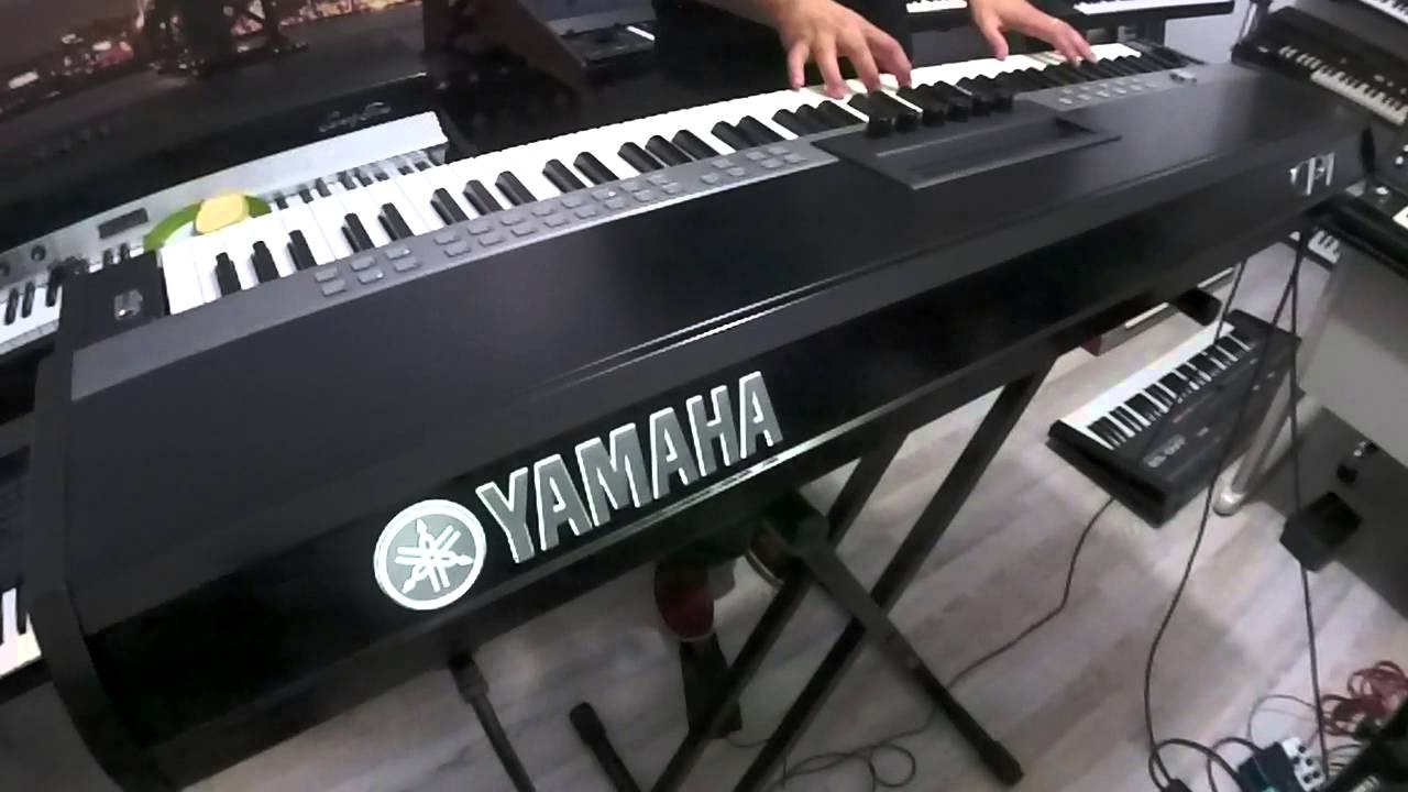 yamaha cp1 vintage electric piano youtube. Black Bedroom Furniture Sets. Home Design Ideas