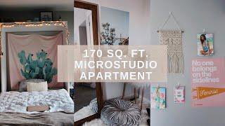 My Tiny San Francisco Apartment + Room Tour! (170 sq. ft.)