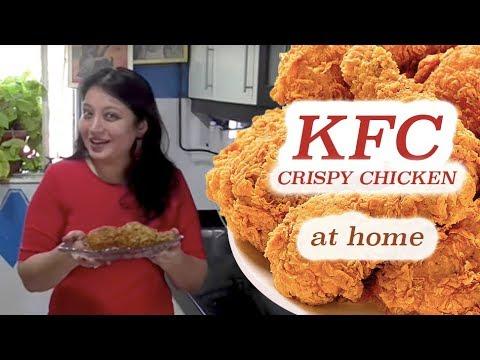 KFC Style Crispy Chicken at Home   Recipe by Samta Sagar