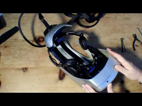 Liquid Image MRG2.2 Head Mounted Display, HMD, Teardown - Part 1