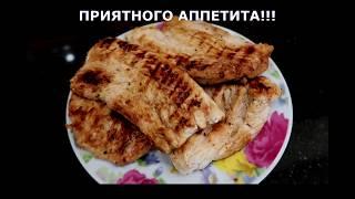 СТЕЙК ИЗ ИНДЕЙКИ/ПРОСТО И ВКУСНО/БЕЗ МАСЛА...