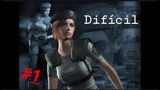 Resident evil|Dificultad Dificil|Jill|Ps4 Comentado