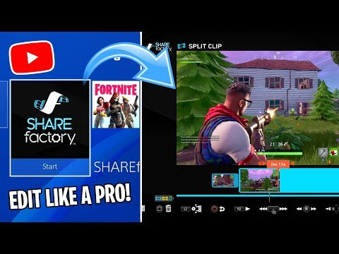 How to USE SHAREFACTORY! (EVERYTHING YOU NEED TO KNOW) (EDIT LIKE A PRO)