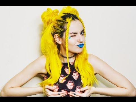 yellow hair inspiration