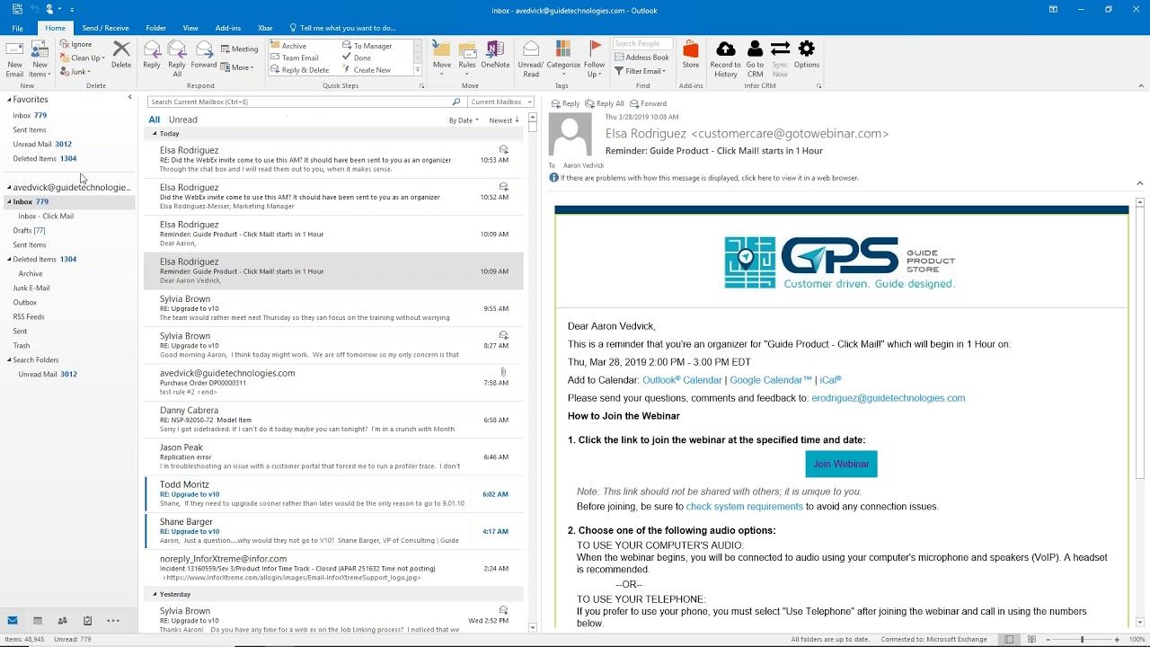 Guide Product - CSI Click Mail