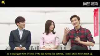 [ENG SUB] 140311 NetEase Interview with SM The Ballad (Zhou Mi cut)