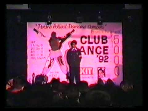 Dancing Comp Exit Night Club 'Foot Patrol' Perth West Australia 1992