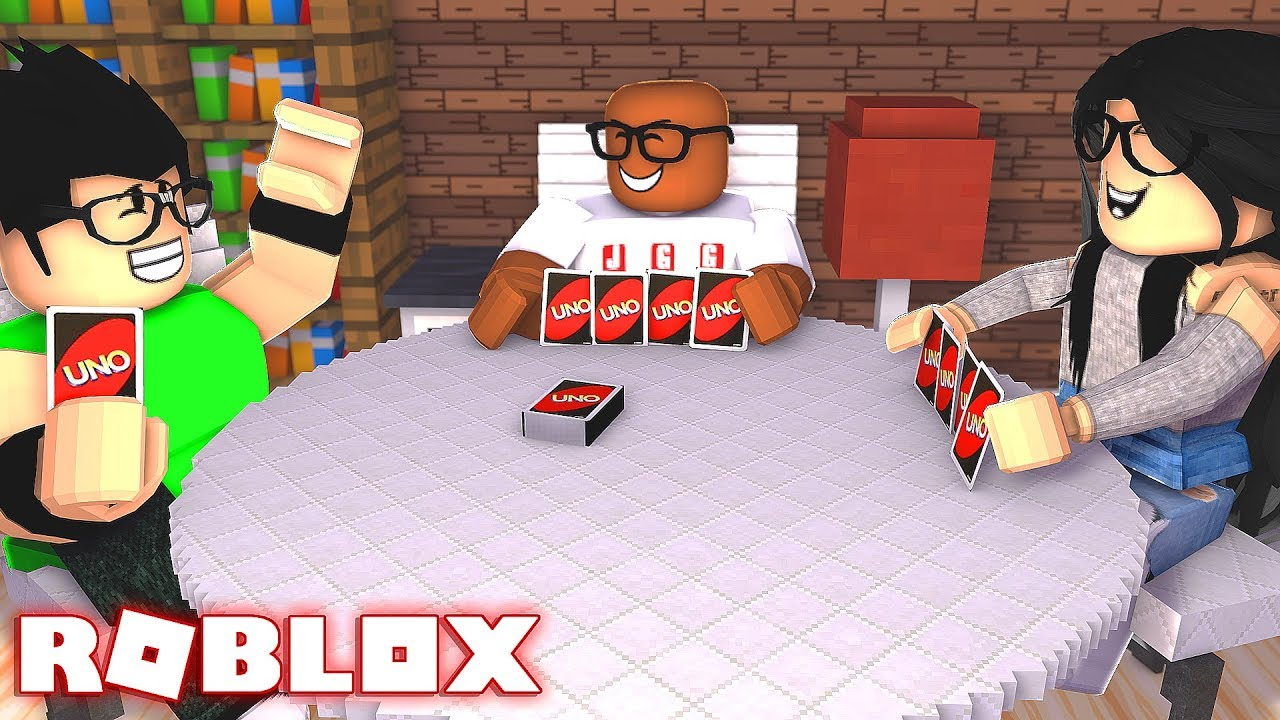 ROBLOX UNO CHALLENGE (This Game CHEATS?)