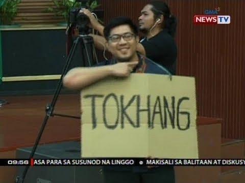SONA: Salitang 'Tokhang,' itinanghal na word of the year sa Sawikaan 2018