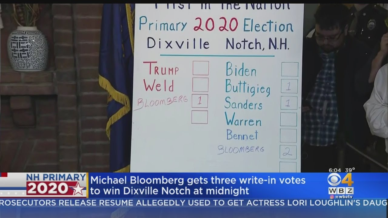 Dixville Notch 2020 results: Joe Biden takes all 5 votes in tiny ...