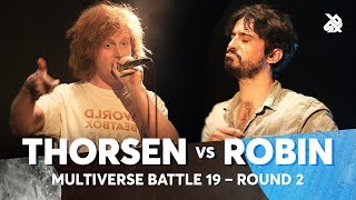 THORSEN vs ROBIN | Multiverse Beatbox Battle 2019 | 2nd Round