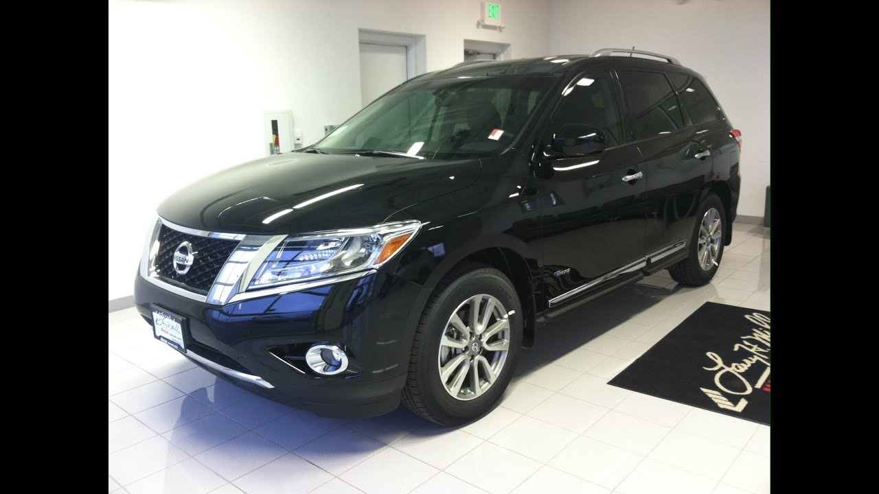 Nice 2014 Nissan Pathfinder Hybrid SL AWD (Start Up, In Depth Tour, And Review)    YouTube
