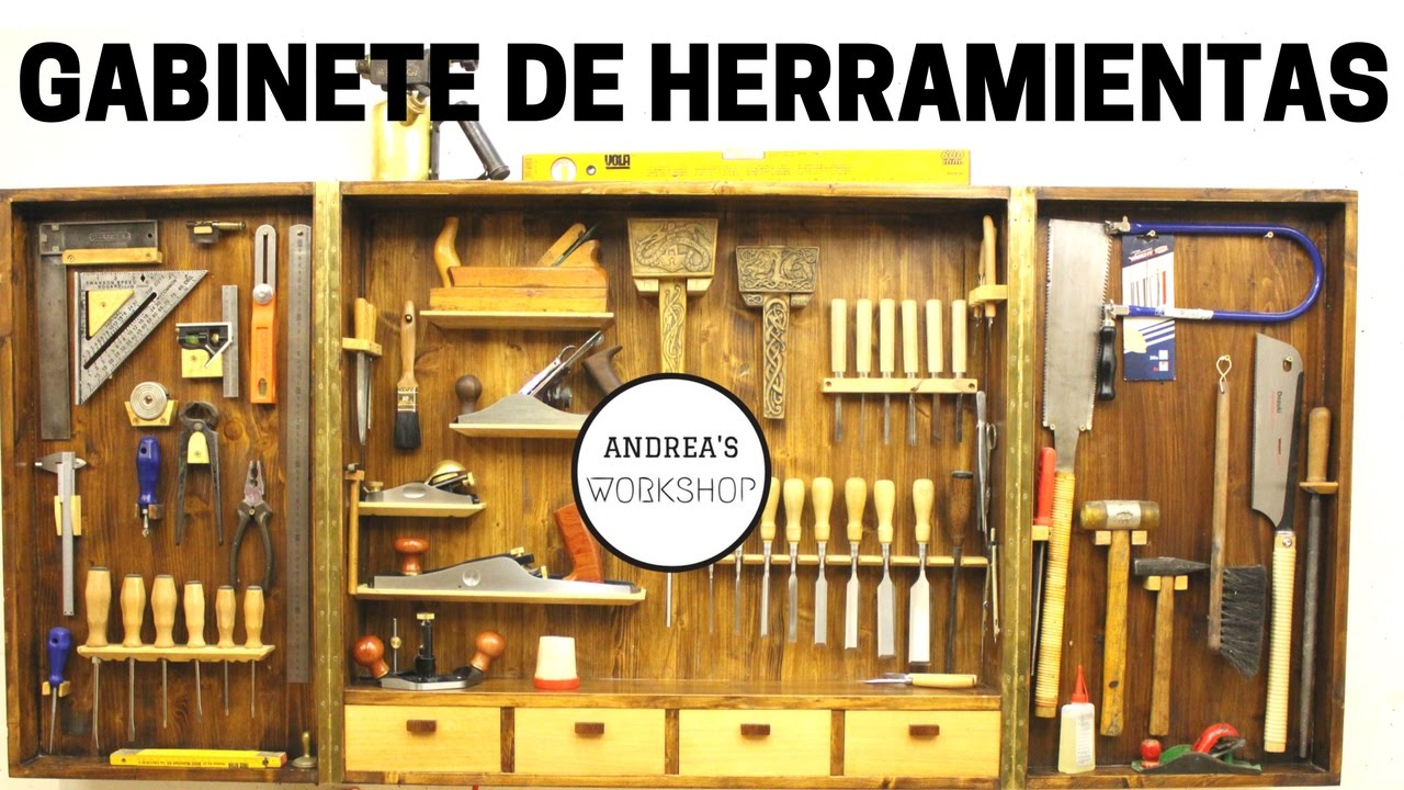 C mo hacer organizador de herramientas manuales youtube for Casas de madera para guardar herramientas