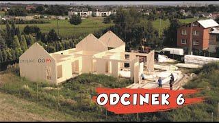 PROJEKT DOM ODCINEK 6 ściany, prefabrykowany dom drewniany, murowanie ścian - CLT, szybka budowa dom