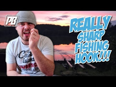 HOW TO SHARPEN YOUR FISHING HOOKS!