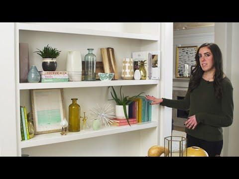 A Beginner's Interior Design Guide: Styling a Bookshelf