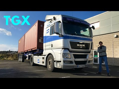 MAN TGX 18.480 Truck - Full Tour & Test Drive - Stavros969