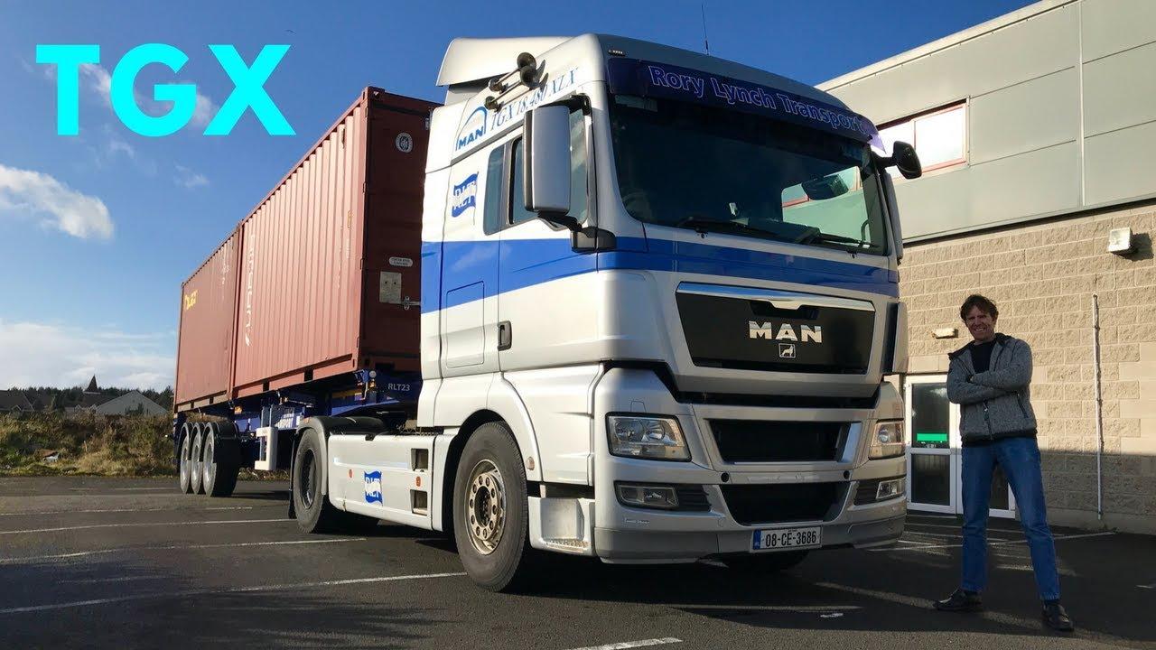MAN TGX 18 480 Truck - Full Tour & Test Drive - Stavros969