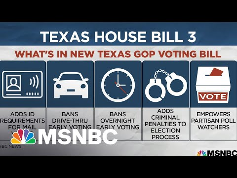 Texas Democrats Fight Restrictive Voting Bills During Special Session