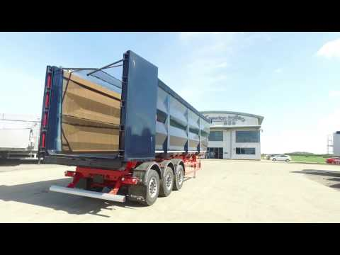 Newton Steel Tipping Trailer - The Lightest 90 cuyd in the UK Market