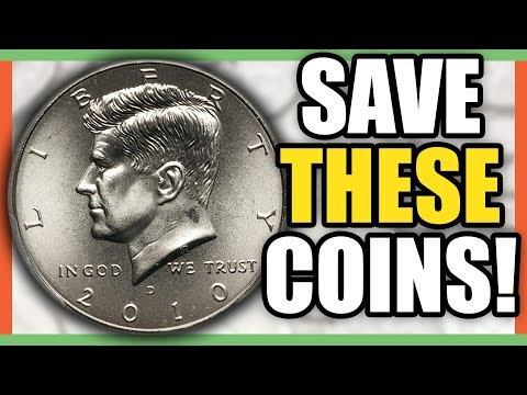 Modern Half Dollars TO LOOK FOR - NIFC Half Dollars Worth Money!