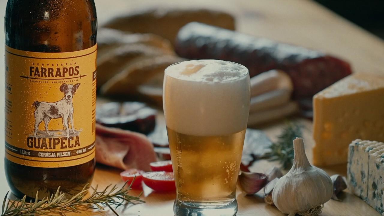 """Artesanato Com Eva Para Vender ~ """"Guaipeca"""" Cerveja Artesanal Farrapos YouTube"""