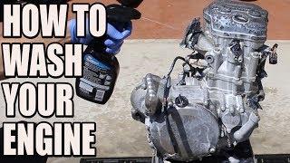 How to wash your dirt bike engine - RMZ 450 build part3