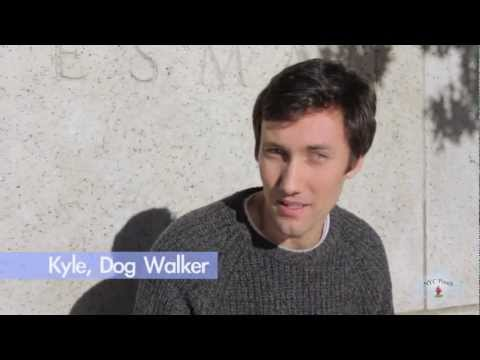 Dog Walker Profiles by NYC POOCH | Introducing Kyle