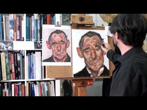 Lucien Freud Study at Berlin Art Class