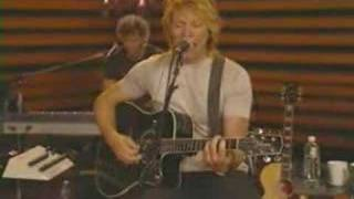 Bon Jovi - Bed Of Roses (Acoustic)