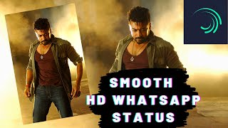 How to make 60 fps HD whatsapp status in alight motion