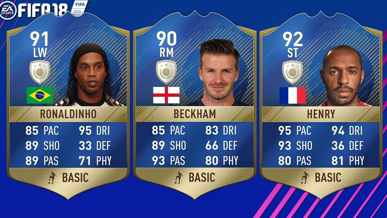 Fifa 18 All Icons