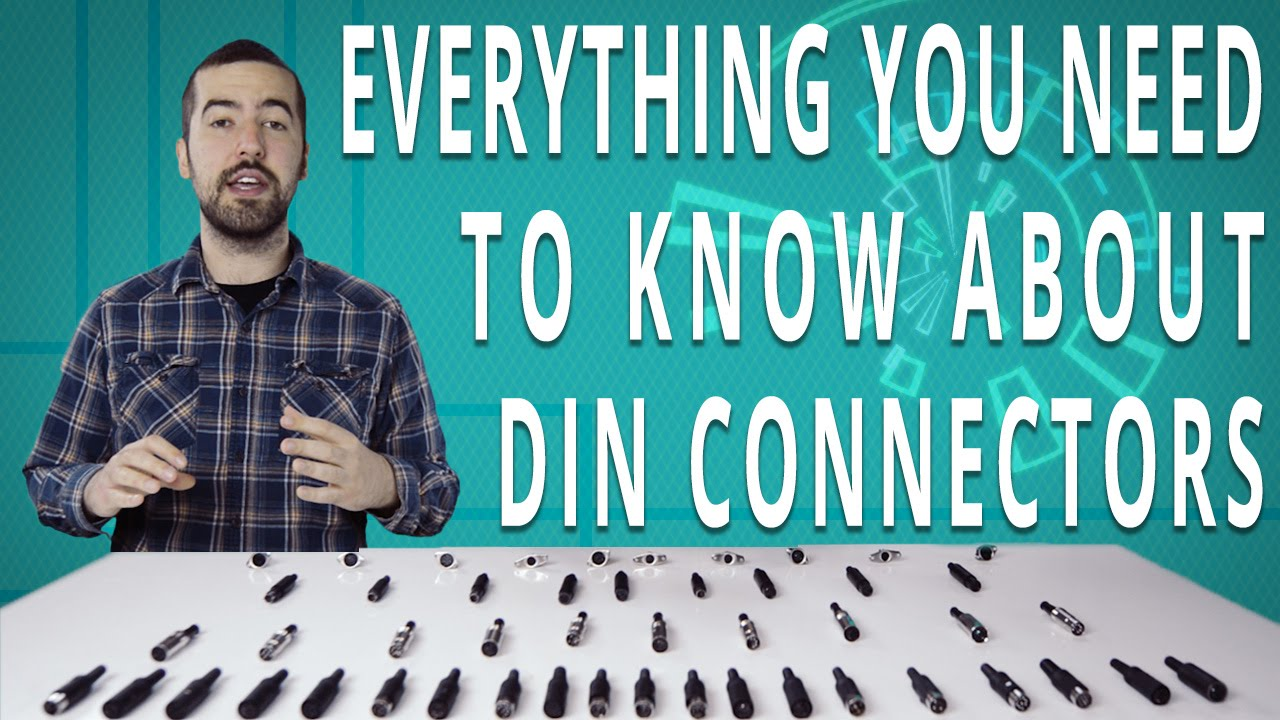 An Overview Of Din Connectors What You Need To Know Youtube Micro Usb 5 Pin Wiring Diagram