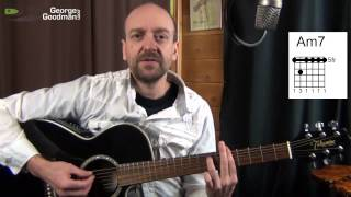 am7 guitar chord how to play