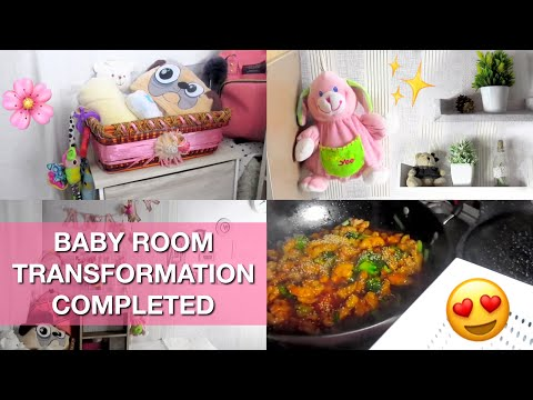 BABY ROOM TRANSFORMATION COMPLETED! | Ye Ghar Ka Hai (Dragon Chicken Recipe) | Pakistani Mom