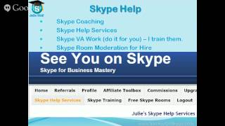 Skype Webinar - Skype Tips, Updates, Help and Basics