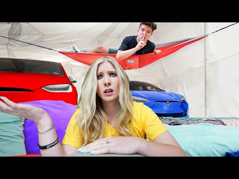 EXTREME Hide and Seek in the World's Biggest Blanket Fort!