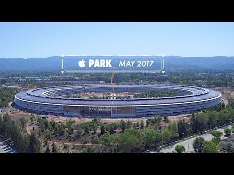 Thumbnail: APPLE PARK: MAY 2017 -- Progress in Cupertino