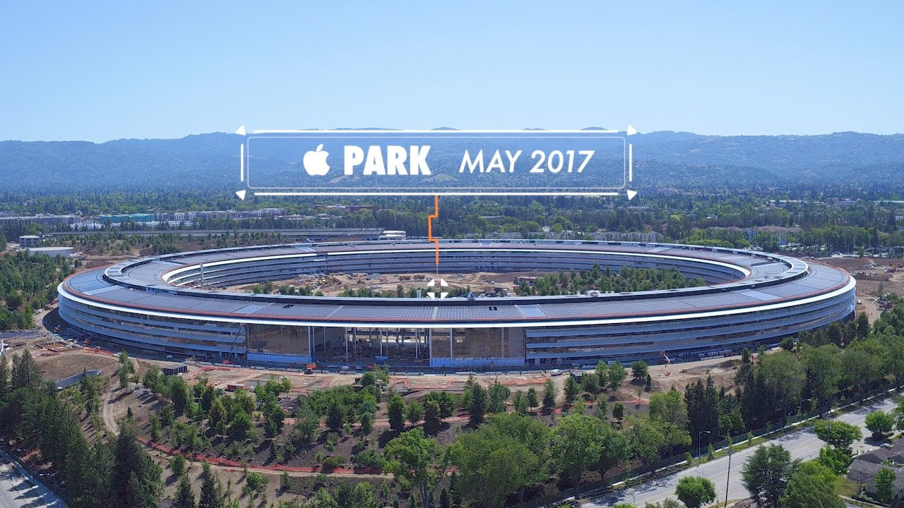 new apple office cupertino. APPLE PARK: MAY 2017 -- Progress In Cupertino New Apple Office I