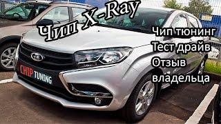 Lada X Ray Чип тюнинг Новая прошивка Тест драйв Отзыв владельца
