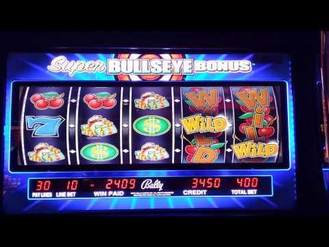 bullseye bonus slot machine