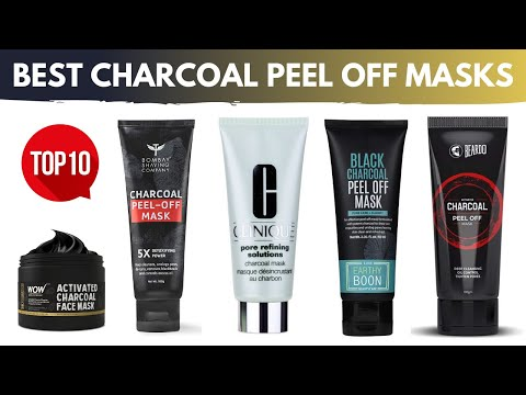 Top 10 Best Charcoal Peel off masks in India with Price 2019 | Buyer's guide