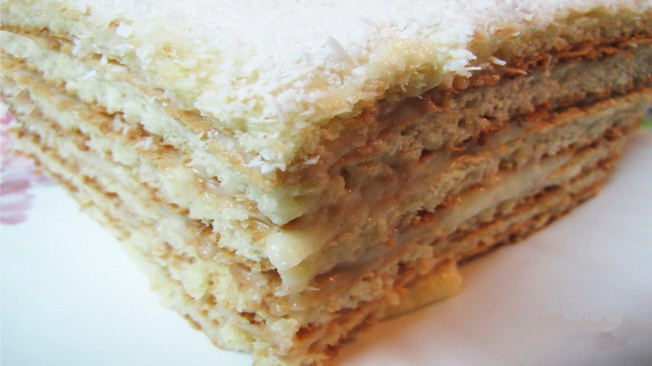 Торт Рафаэлло Cake Rafaello Рецепт простого вкусного ...