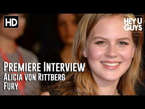 Alicia Von Rittberg   Fury Premiere
