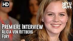 Alicia Von Rittberg Interview - Fury Premiere