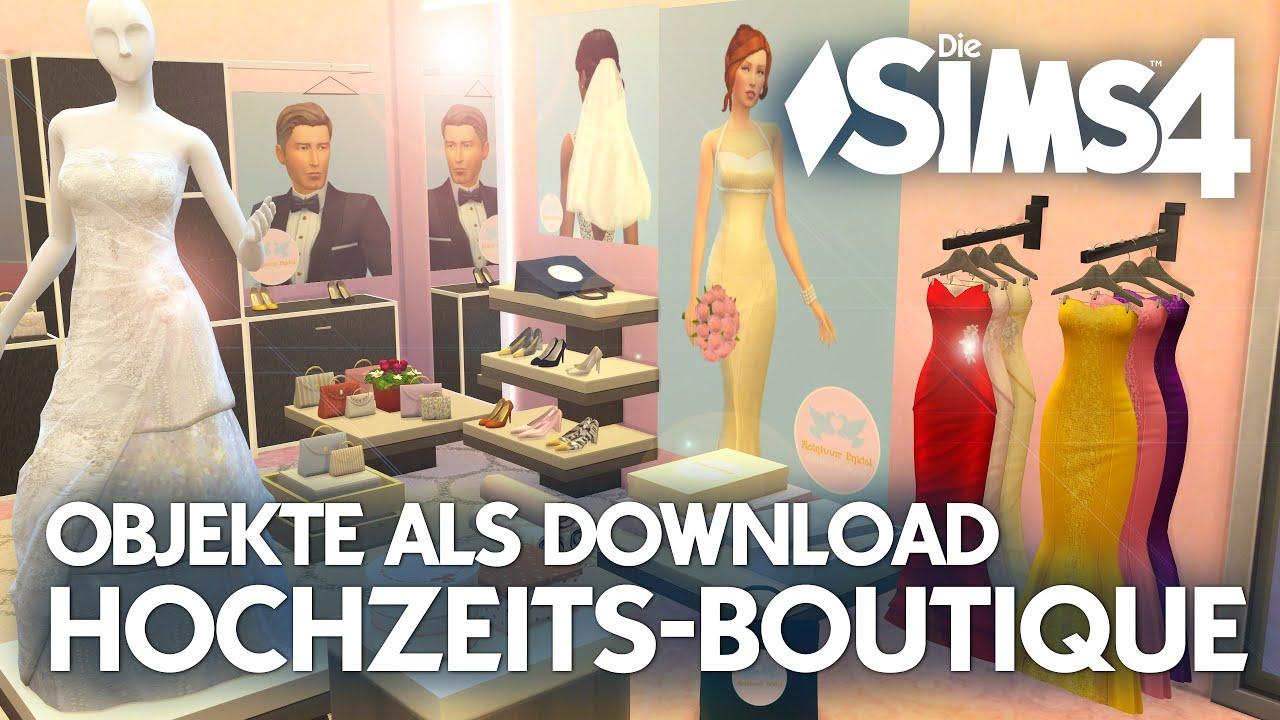 Die Sims 4: Hochzeit Boutique 👰 Objekte als Download (CC) 🛍