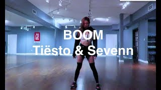 Qiana Chen Tiësto u0026 Sevenn - Boom Jane kim