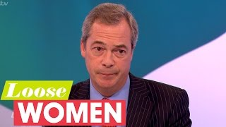 Nigel Farage And The Loose Women Discuss Islamic Extremists | Loose Women