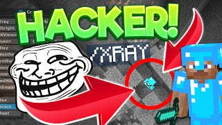 Repeat youtube video TROLLING A HACKER ON MINECRAFT