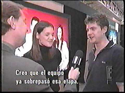 "Katie Holmes and Joshua Jackson Interview ""Dawson's Creek"" (Spanish Sub)"